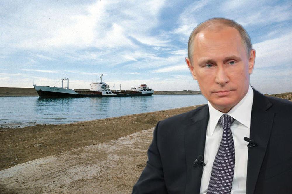 PUTINOV PROJEKAT VEKA – Rusija zakopava Suecki kanal sa jednim ciljem! VIDEO