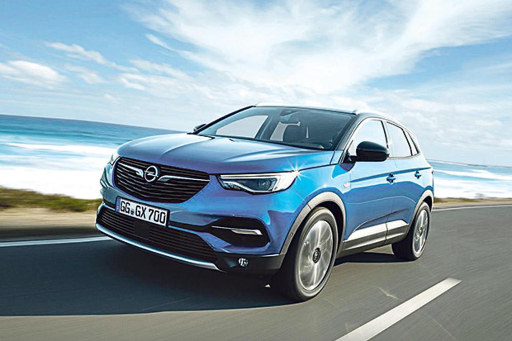 MOKA S MLEKOM: Kurir u Nemačkoj probao novi Opelov terenac grandlend X