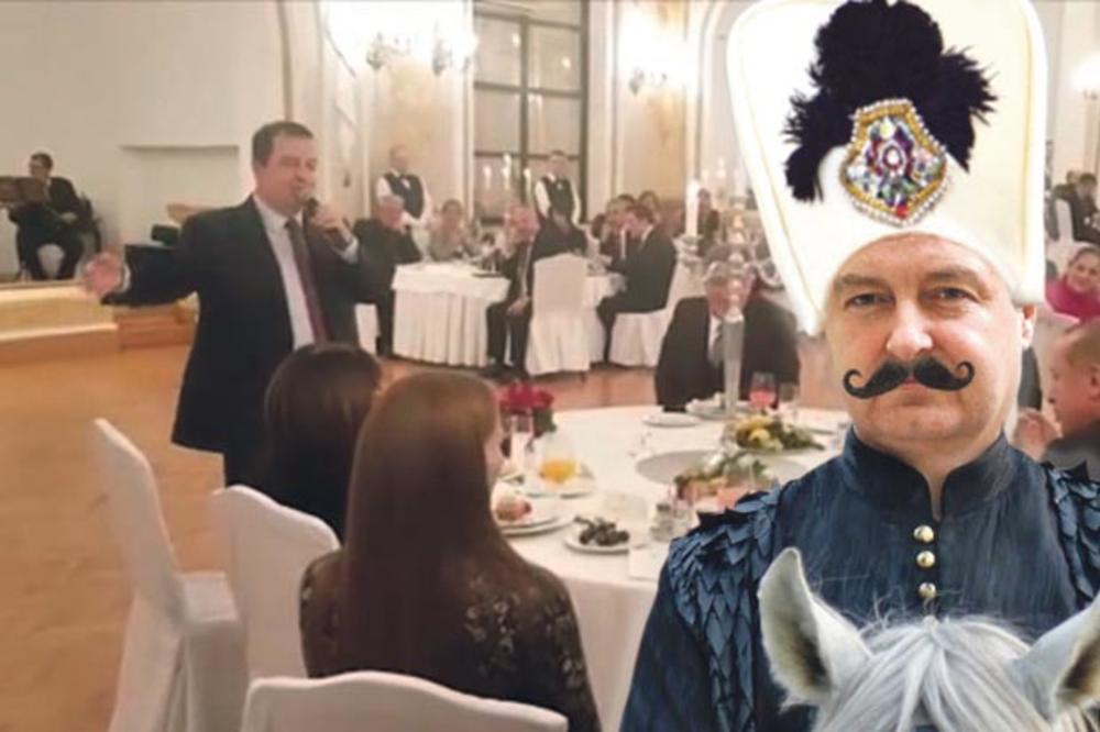 ENGLESKI NE ZNA ALI PEVA NA TURSKOM: Ivica Dačić Zumbul-aga