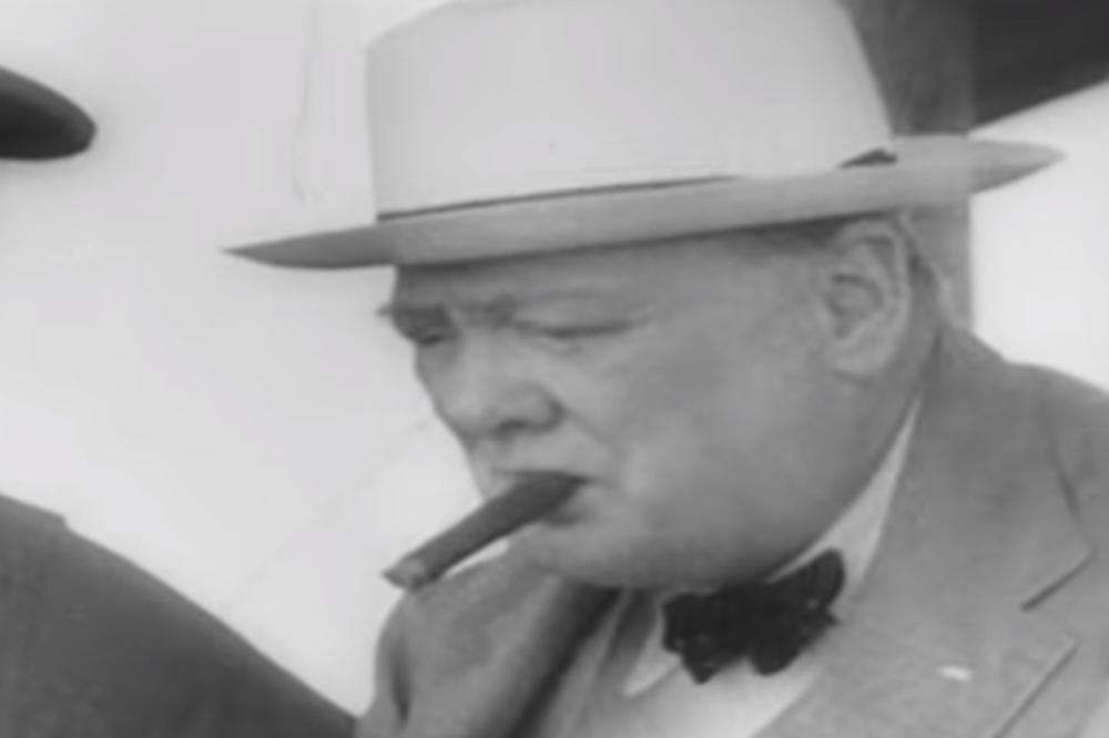 (VIDEO) ZAŠTITNI ZNAK: Cigara Vinstona Čerčila prodata na aukciji za vrtoglavo visoku sumu novca