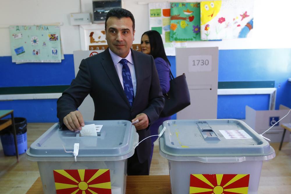ZAEV GLASAO I PORUČIO: Danas je veliki dan za demokratiju i slobodu u Makedoniji
