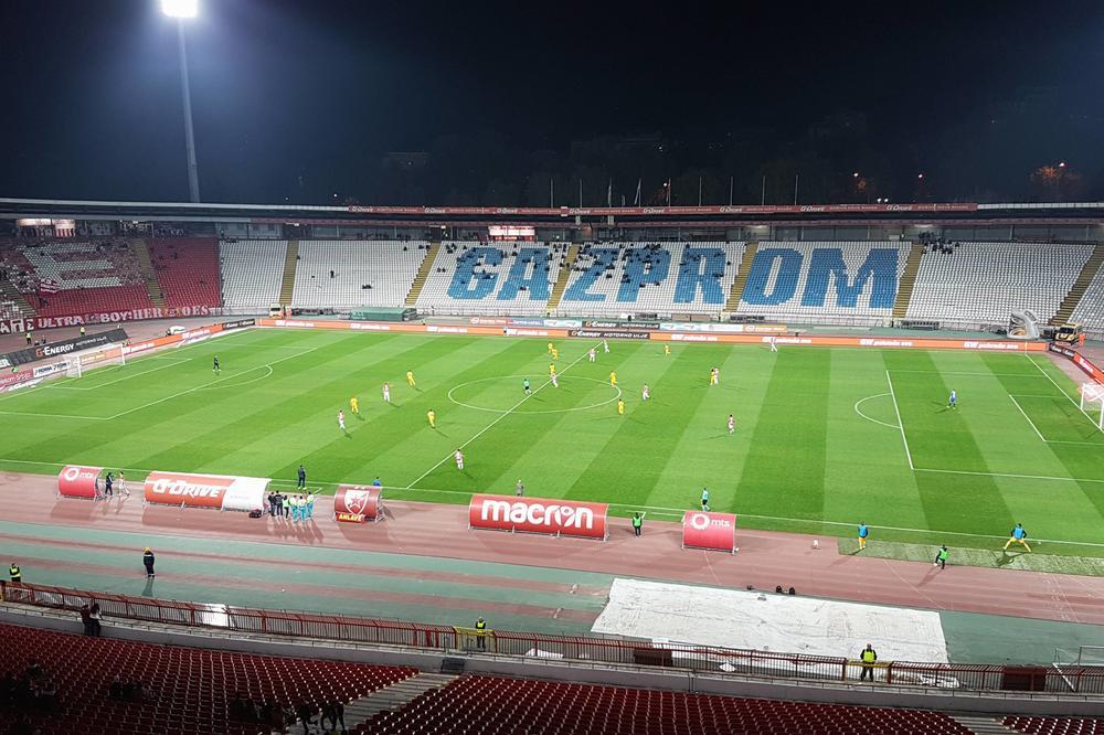 (KURIR TV) Zvezdin stadion okovan barijerama