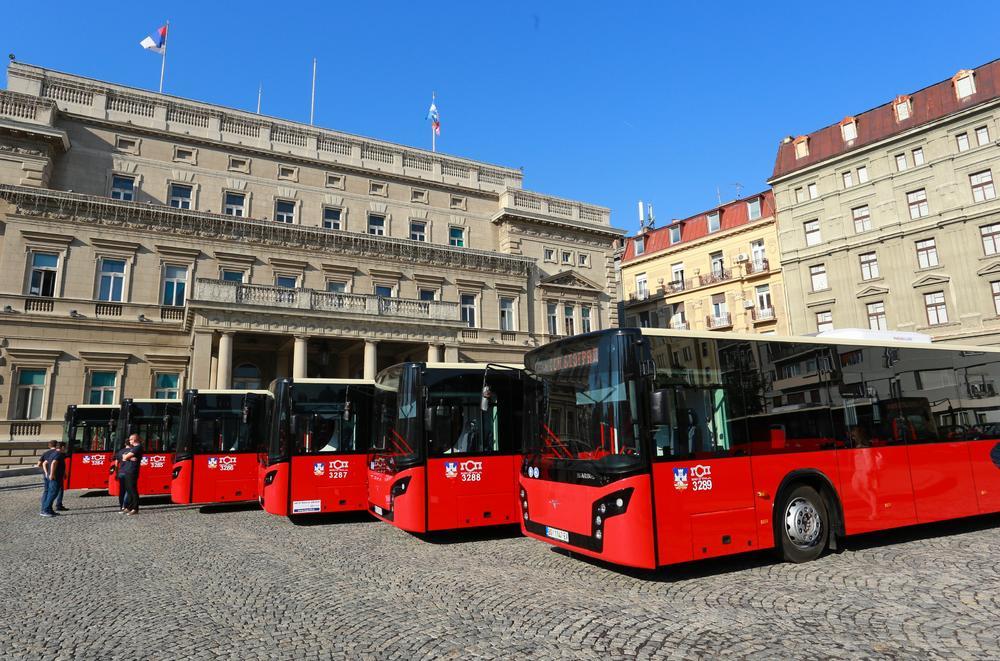 08:51h OD 1. SEPTEMBRA NA ULICAMA SRPSKE PRESTONICE: Beograd kupuje više od 200 novih autobusa