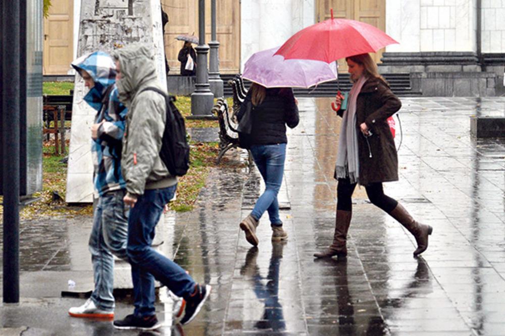 NAOBLAČILO SE, ALI NE ZADUGO: Utorak u Srbiji tmuran i kišovit, a ovako će biti narednih dana! PONOVO PRAVO PROLEĆE