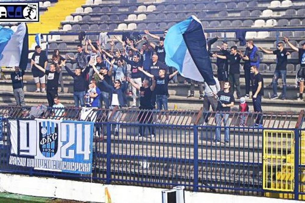 (FOTO) KAD BEBA POĐE NA STADION: Fotografija iz Smedereva raznežila internet i dokazala koliko je sport lep