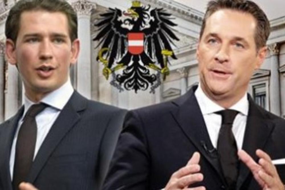 AUSTRIJANCI STALI UZ SVOG KANCELARA: Velika podrška koaliciji koju pravi  Sebastijan Kurc