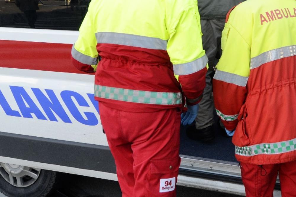 7 POVREĐENIH U 5 SAOBRAĆAJKI: U jutrošnjoj nesreći kod Bubanj potoka jedan povređen