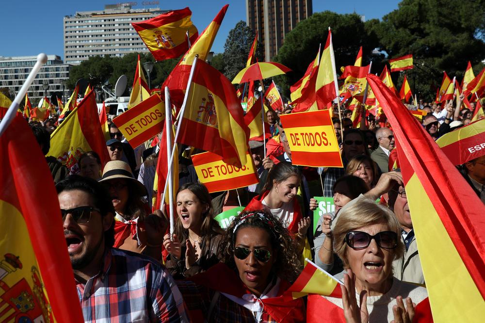 MADRID DOTUKAO BARSELONU: Anulirani svi dokumenti koji su doveli do referenduma o nezavisnosti