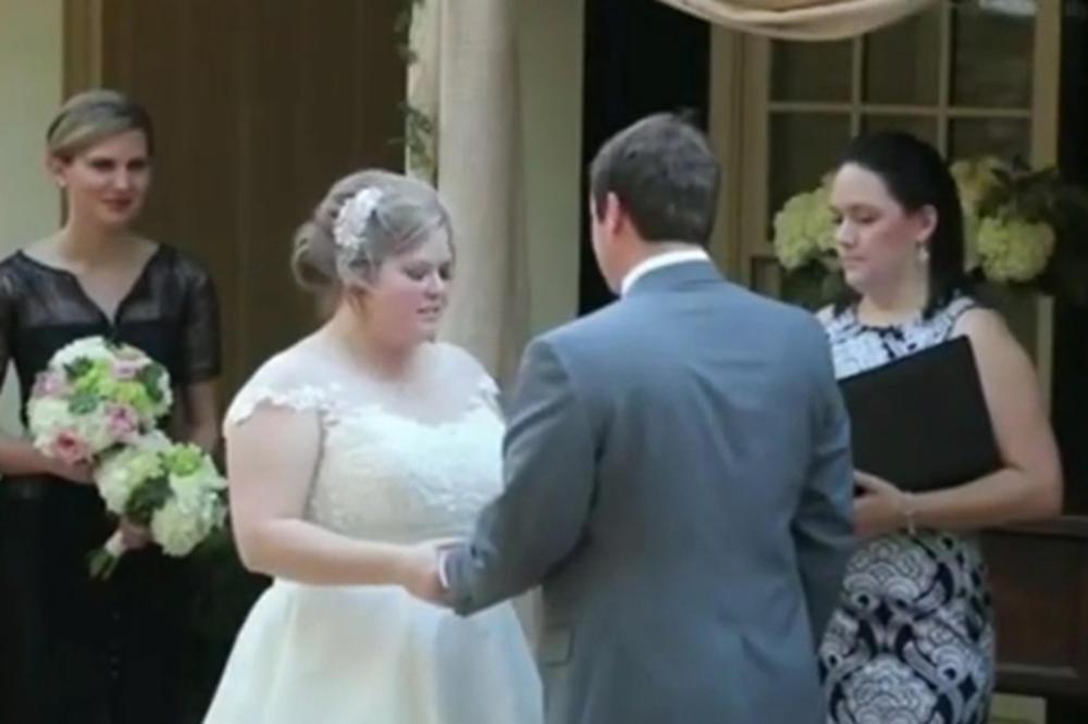 (VIDEO)Venčanje upropašćeno za vjek i vjekov! Najlepši momenat u životu pamtiće po KATASTROFI!