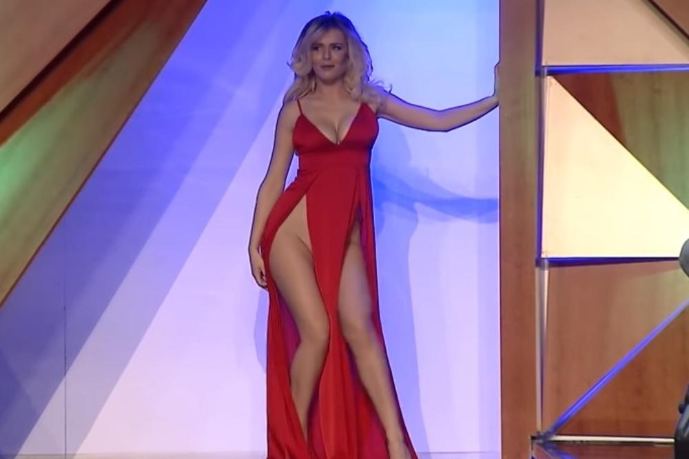 (VIDEO 18+) SKANDAL NA TELEVIZIJI: Seksi pevačica plesala bez donjeg veša i grudnjaka! Sve ispada!