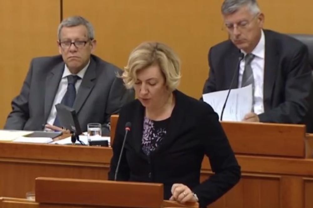 (VIDEO) ĆIRILICI NEMA MESTA U SABORU? Srpski jezik i pismo izazvali burno reagovanje desničara! Traži se pravno timačenje!