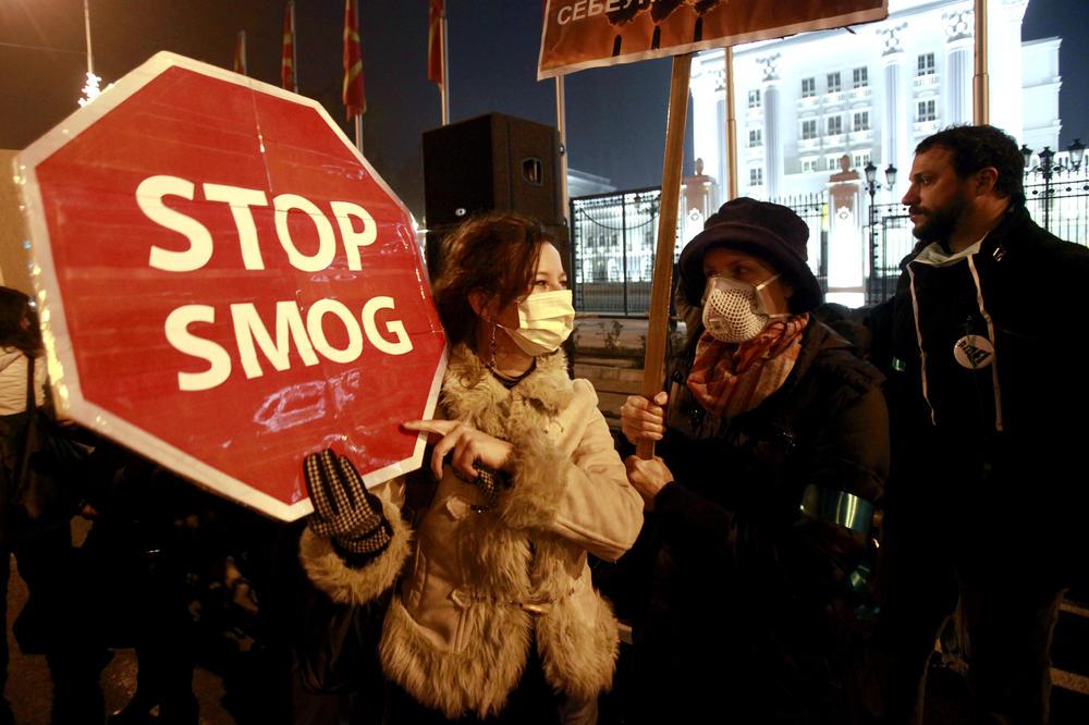 MAKEDONSKA VLADA PREDUZIMA POSEBNE MERE PROTIV SMOGA: Skoplje i Tetovo najzagađeniji gradovi u Evropi