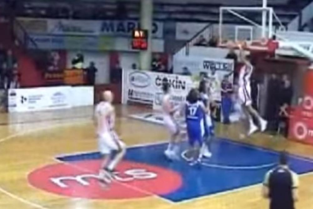 (VIDEO) NBA U ČAČKU: Pogledajte TOP 5 poteza u Košarkaškoj ligi Srbije