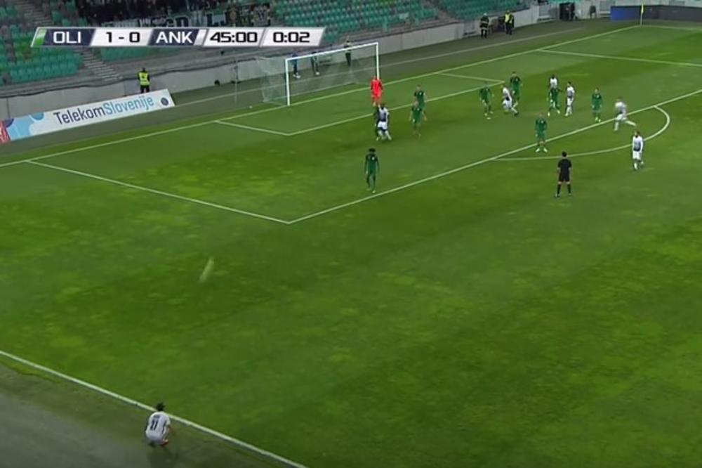 (VIDEO) NESTVARNA SITUACIJA U SLOVENIJI: Detalj sa fudbalske utakmice u Ljubljani postao planetarni hit