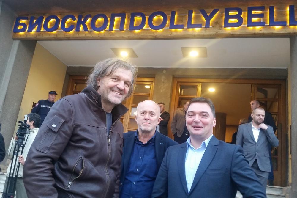 OBNOVLJEN BIOSKOP U FOČI: Emir Kusturica i Milorad Dodik otvorili prvu salu multipleksa Doli Bel!
