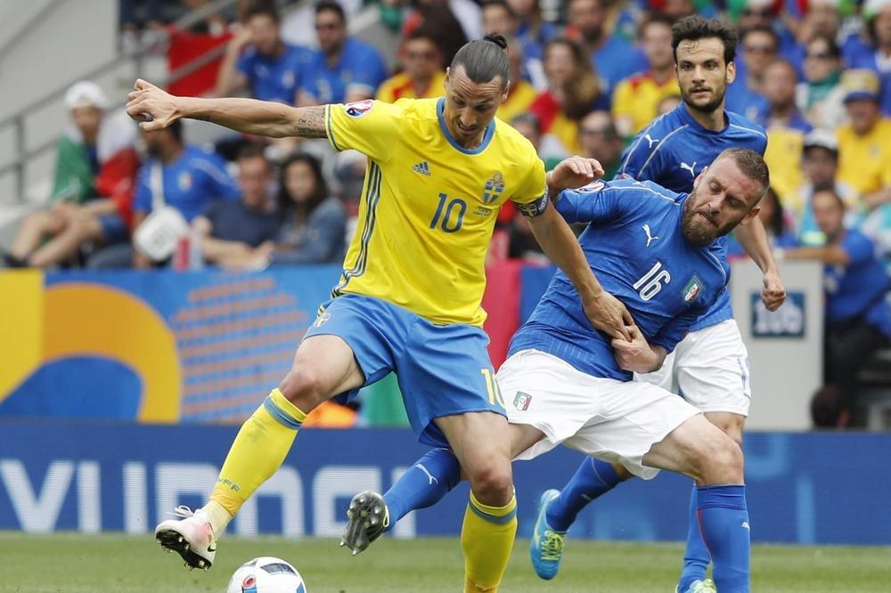 (FOTO) ZLATAN POKORIO PLANETU: Ibrahimović na svoj način prokomentarisao plasman Švedske na Mundijal i potop Italije!