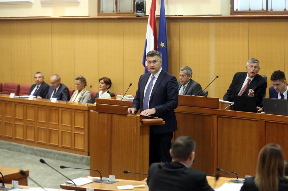 PLENKOVIĆ OPTIMISTA: Sabor će izglasati poverenje mojoj vladi