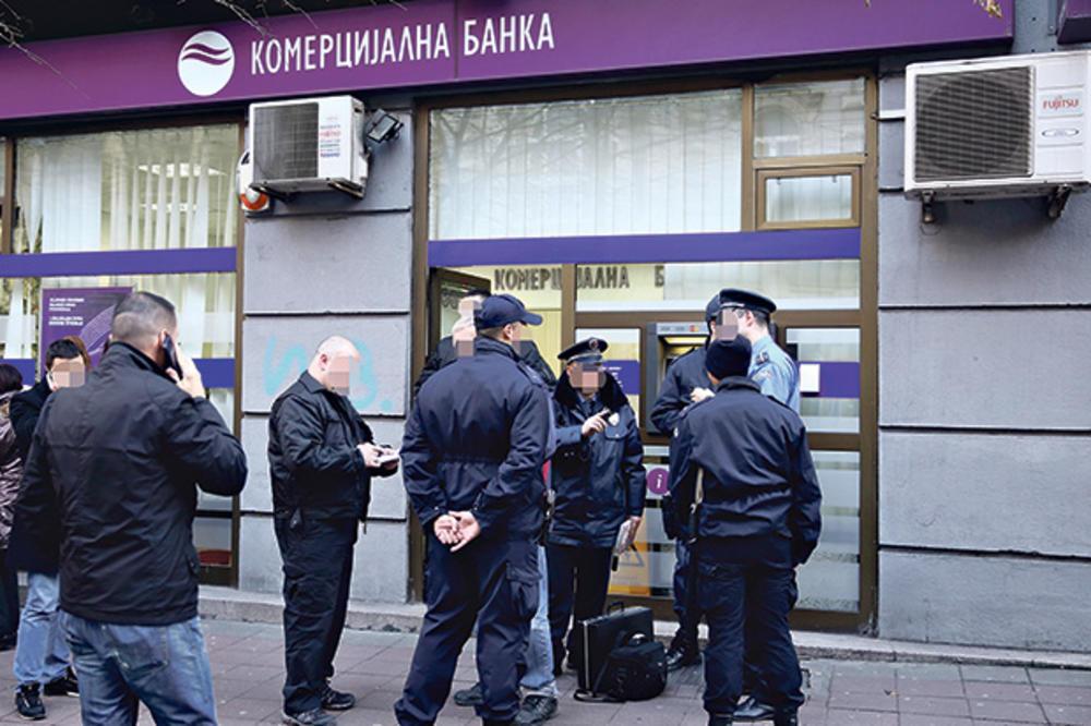 BANKARI POD ISTRAGOM: BIA upala u Komercijalnu banku, sumnja se da su pokradeni milioni