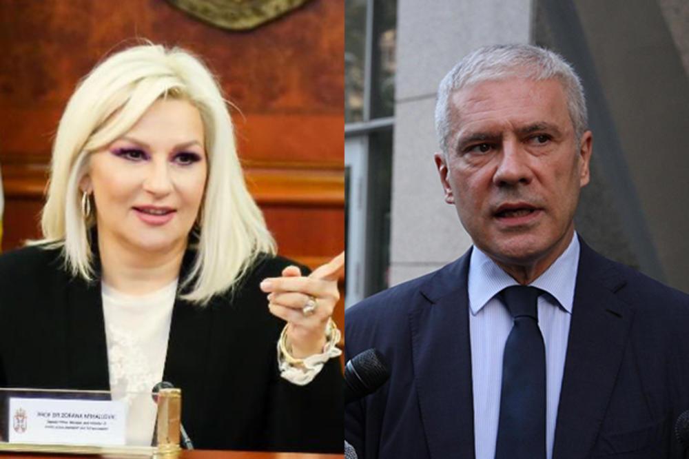ZORANA vs BORIS: Tadiću, pobegao si kad su jednostrano proglašavali nezavisnost Kosova! Iznosiš neistine, Zorana!
