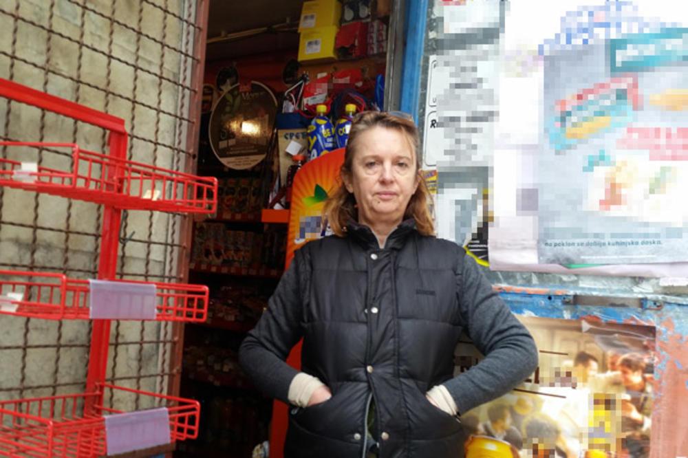 MILINA (52), ŽENA JUNAK IZ UŽICA, NAJURILA RAZBOJNIKA IZ PRODAVNICE: On na mene nožem, ja na njega nožem! Vikao mi pare, kučko!