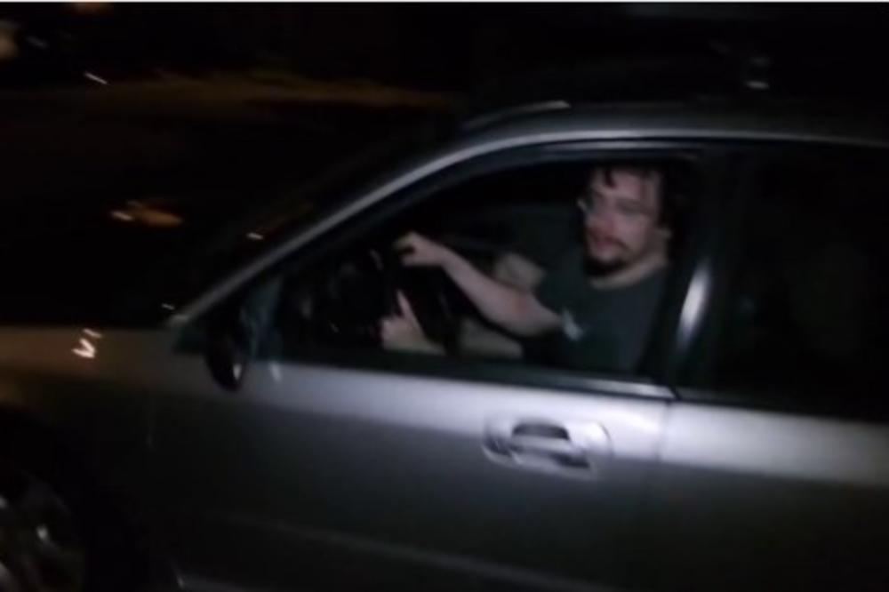 (VIDEO) OVO JE MONSTRUM KOJI SE  AUTOM ZALETEO U ĐAKE: Samir Al-Hajid poznat od ranije policiji, ali i psihijatrima!