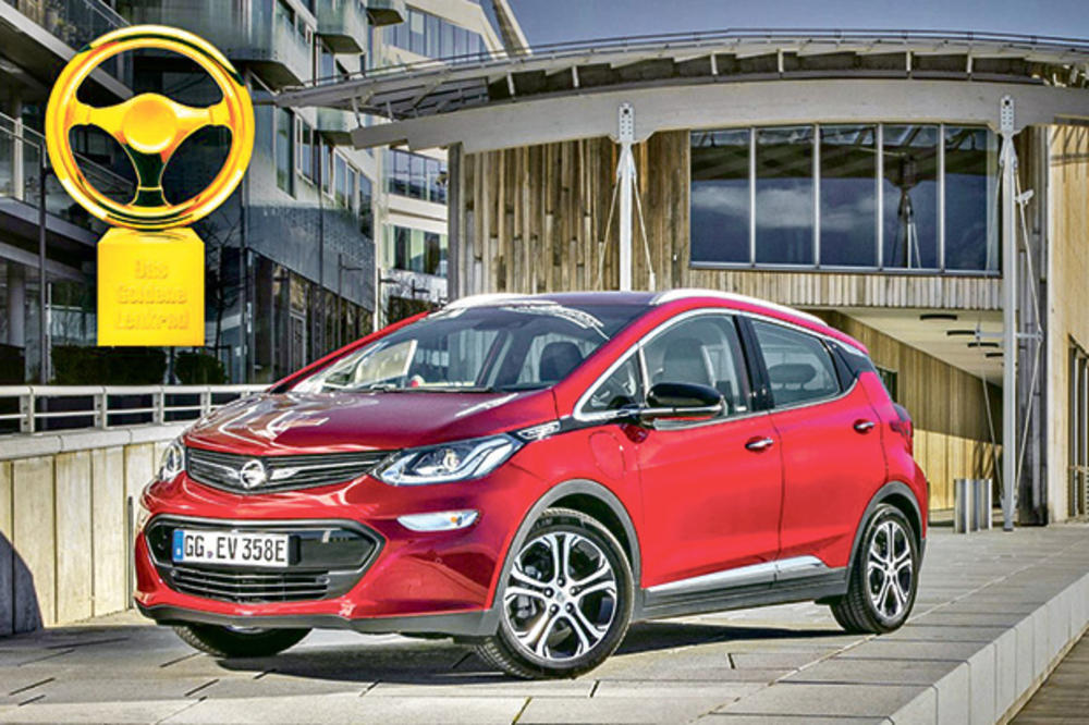 PRESTIŽNO: Opel ampera-e osvojila Zlatni volan 2017