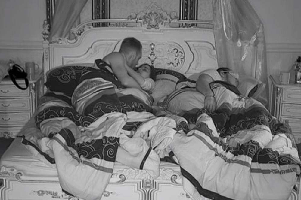 (VIDEO) OPUSTILI SE U CIK ZORE: Nova akcija ispod pokrivača! Pohvatali se dok Gastoz spava pored njih!