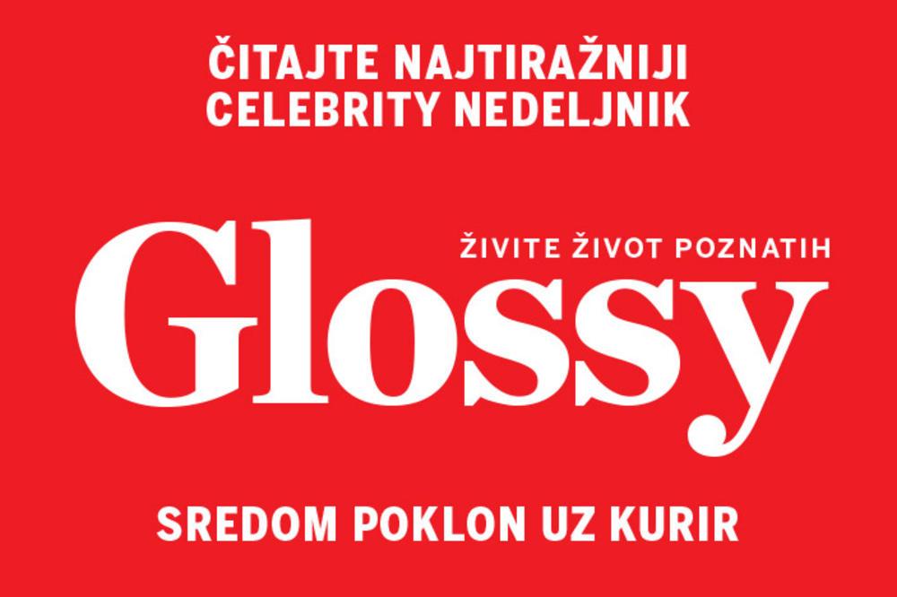 SUTRA POKLON UZ KURIR: Svi s nestrpljenjem iščekuju novi broj magazina Glossy