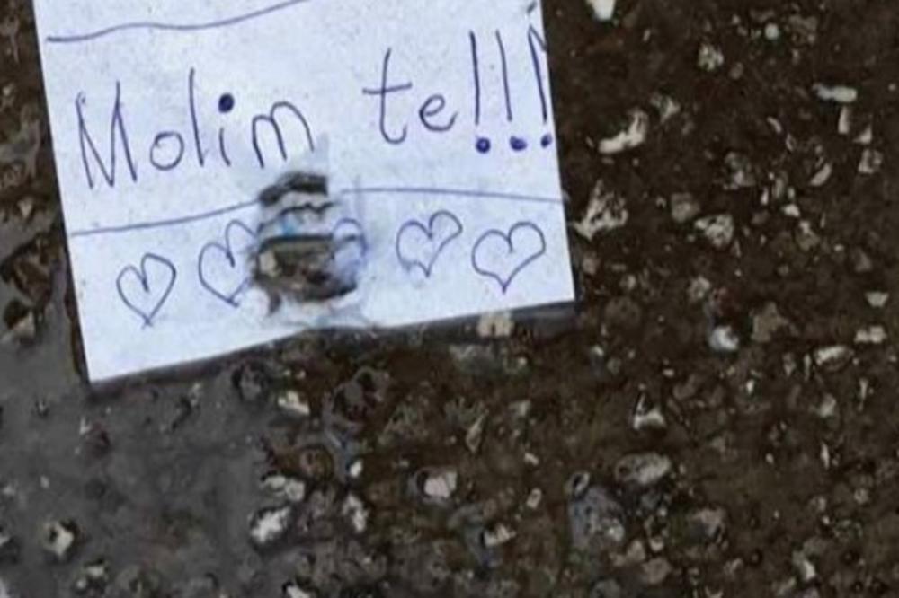 (FOTO) PORUKA KOJA JE RAZNEŽILA CEO BALKAN: Jedno dete napisalo je mami dirljivu molbu, a sada se o tome priča i na Fejsbuku