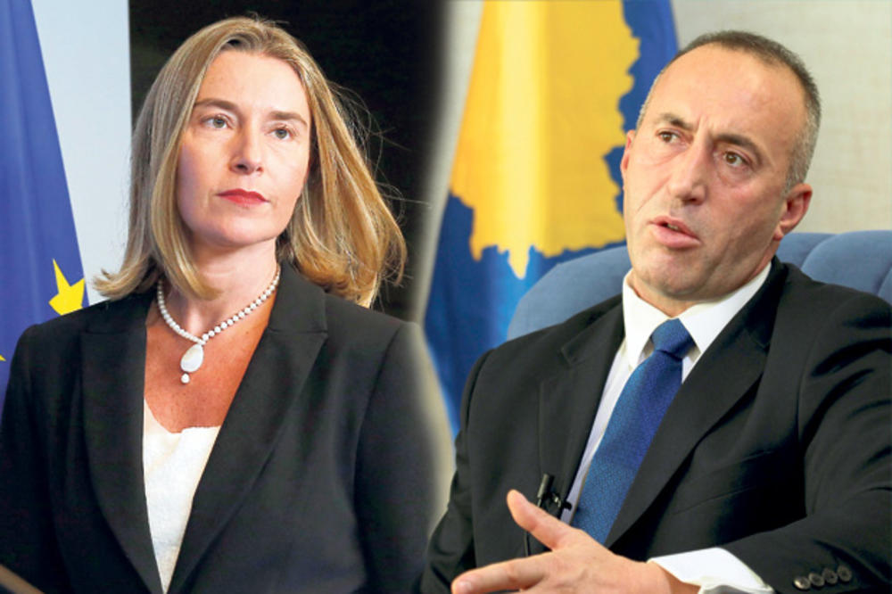 ŠAMARČINA KOSOVSKOJ DELEGACIJI U BRISELU: Mogerinijeva izmarširala Haradinaja