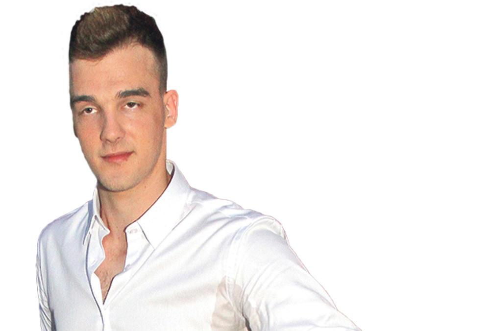 IMA SAMO 21 GODINU: Aleksa Perović postaje tata sledeće godine!