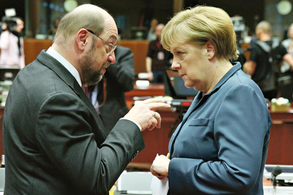 KONAČNO PAO DOGOVOR: Merkelova i Šulc prave veliku koaliciju!