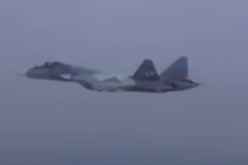 MOTOR DA SE SMRZNEŠ – Prvi let ruskog lovca budućnosti dokazao zašto ga zovu nebeskim kraljem! VIDEO