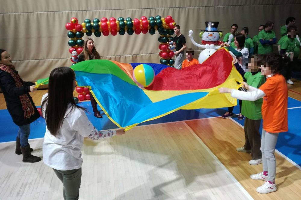 SPORT ZA SVE: Više stotina dece učetvovalo na inkluzivnoj sportskoj manifestaciji