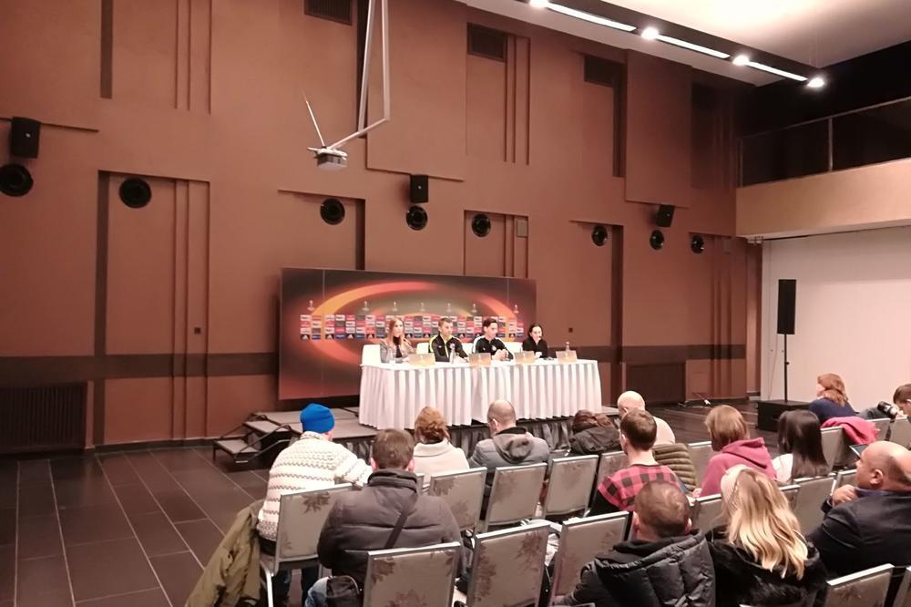 (KURIR TV U KIJEVU) TOŠIĆ PRESKOČIO TRENING Đukić ponovio: Partizan ima obavezu da osvoji prvo mesto