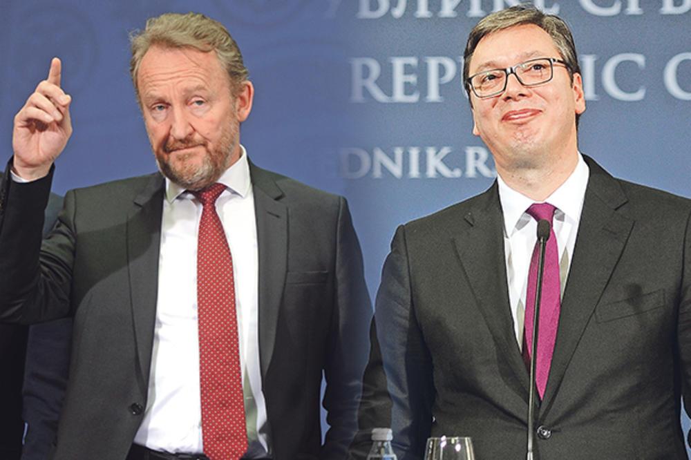 IZETBEGOVIĆ PROVOCIRAO USRED BEOGRADA: Bakir pogazio dogovor Srbije i BiH o Kosovu! Vučić ga iskulirao