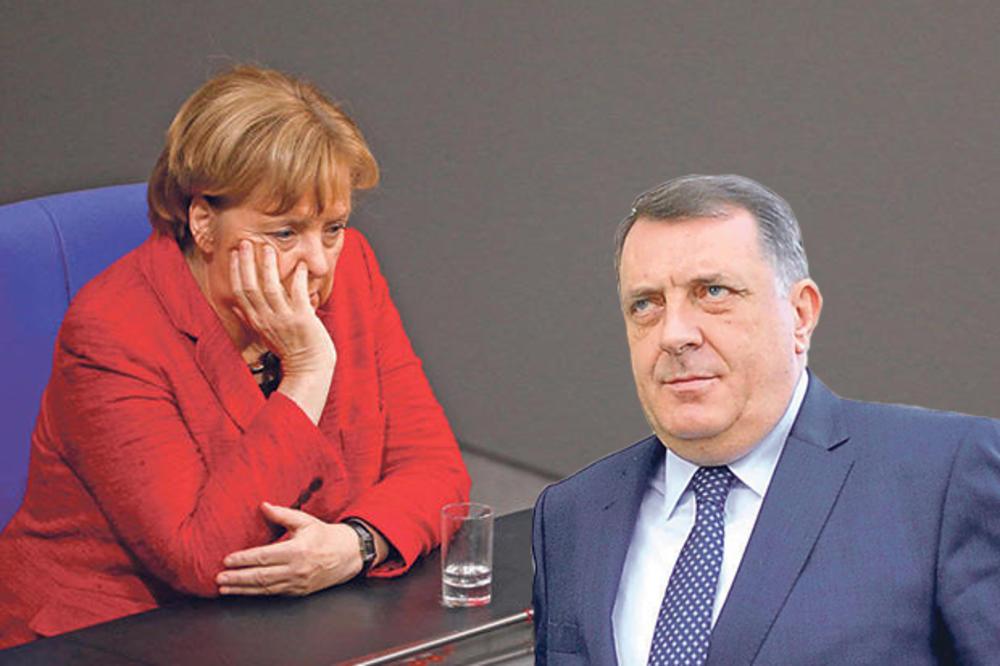 MILORAD DODIK ZA KURIR: Nek mi Merkelova uzme sve pare