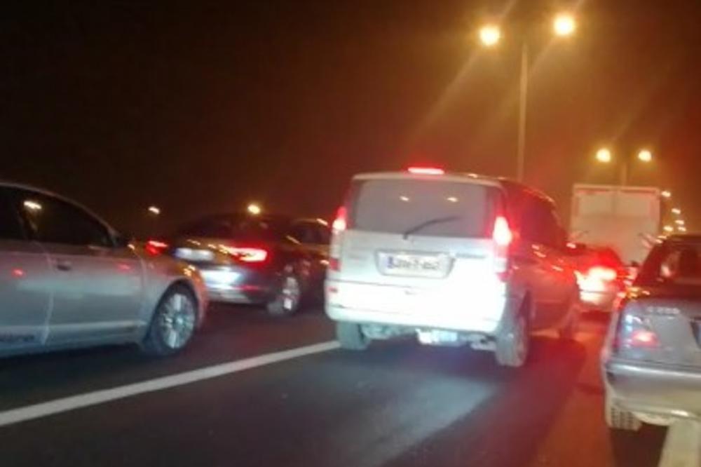 (KURIR TV) SVI PUTEVI VODE NA MARAKANU: Četiri sata pred meč Zvezde i Kelna velika gužva na auto-putu