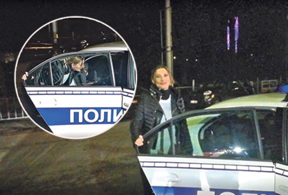 PRIVEDENA MIRA ŠKORIĆ: Pevačica završila u policijskom automobilu!
