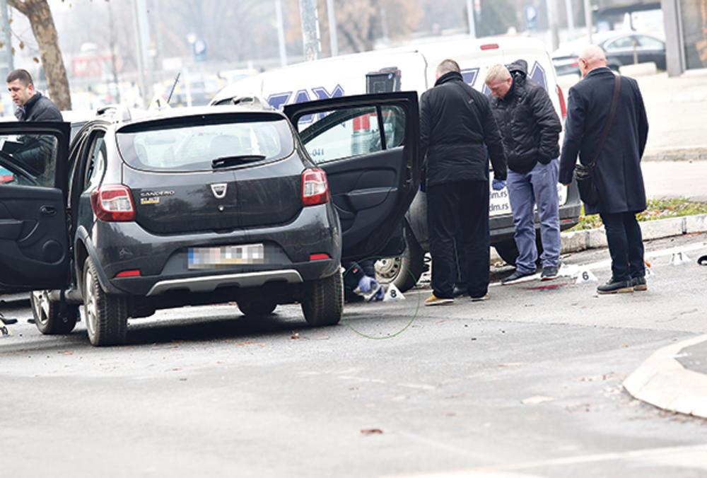 Mesto zločina... Rodić je upucao suprugu dok je s koleginicom bila u automobilu