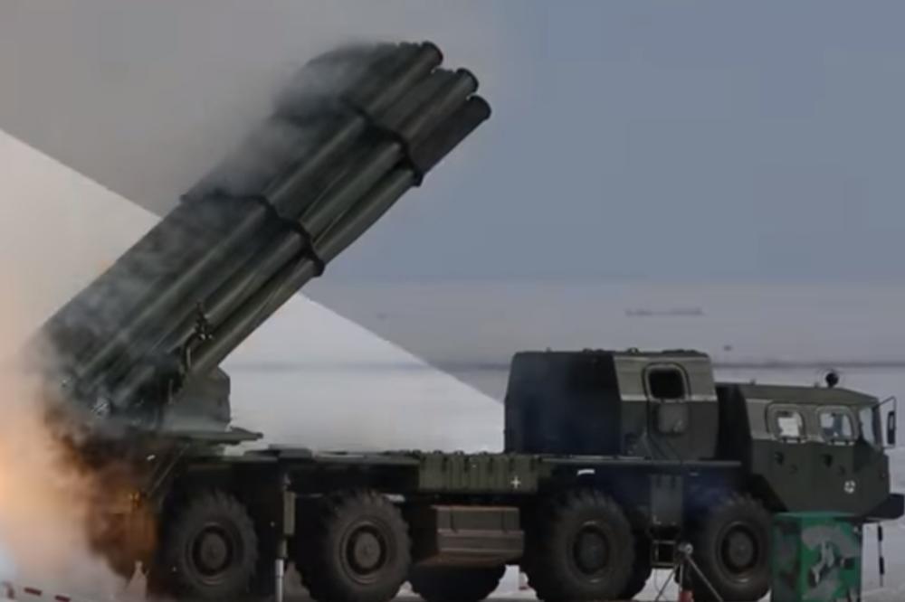 OVO JE NAJMOĆNIJE RUSKO ORUŽJE POSLE NUKLEARNE BOMBE – Jedan rafal ove zveri sadrži tonu eksploziva! VIDEO