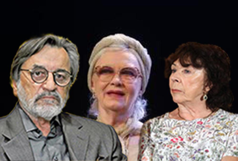 Dragan Nikolić, Seka Sabljić, Milena Dravić