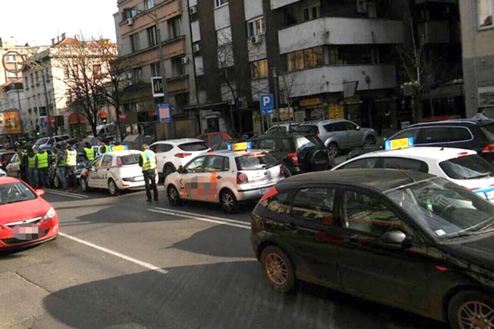 PROTEST AUTO-ŠKOLA BLOKIRAO BEOGRAD: Haos u centru zbog nezadovoljnih instruktora!