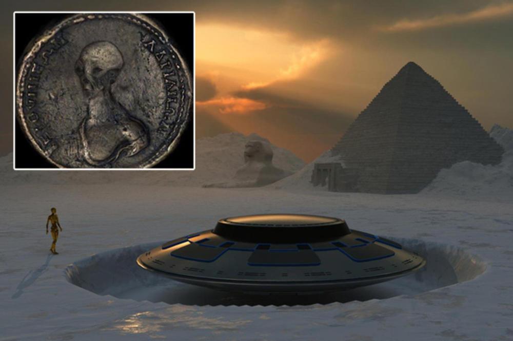 VIDEO: ARHEOLOZI ŠOKIRALI SVET – U Egiptu pronađeni drevni novčići koji dokazuju postojanje vanzemaljaca