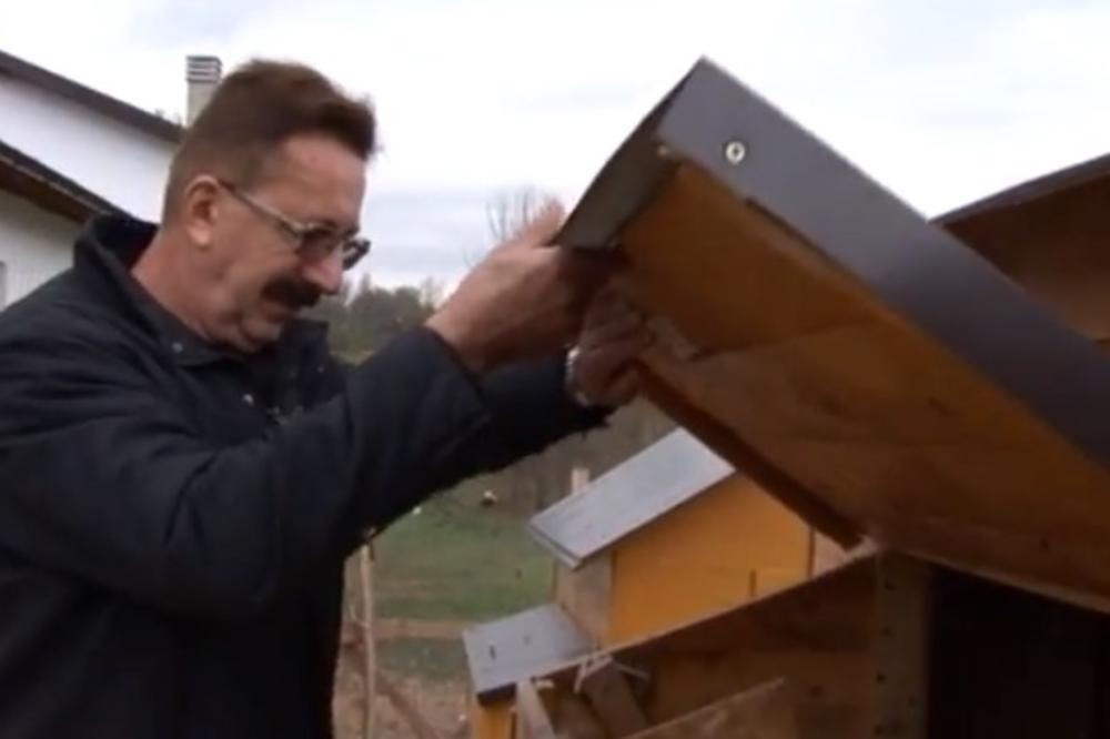 (VIDEO) MILOŠ SE POSLE 35 GODINA VRATIO U SRBIJU: Iz Švajcarske je doneo nešto zbog čega mu komšije zaviruju u dvorište! Što je najbolje, od toga može dobro i da se zaradi!