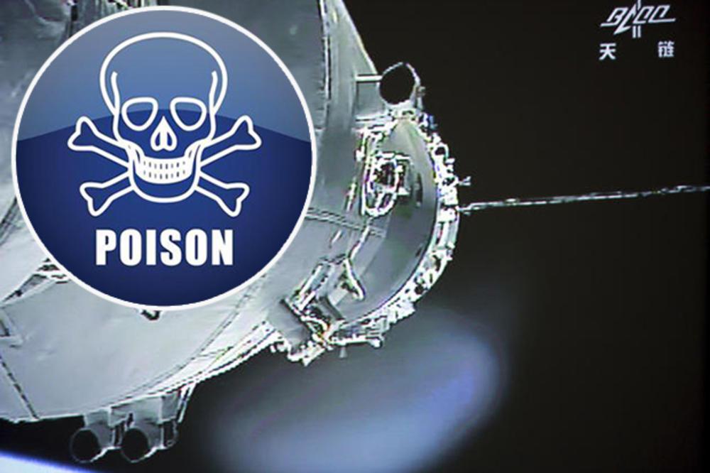 (VIDEO) OPASAN SVEMIRSKI OTROV CILJA BALKAN: Hemikalija koja izaziva rak bi uskoro mogla završiti na Zemlji, i pred tim nema odbrane