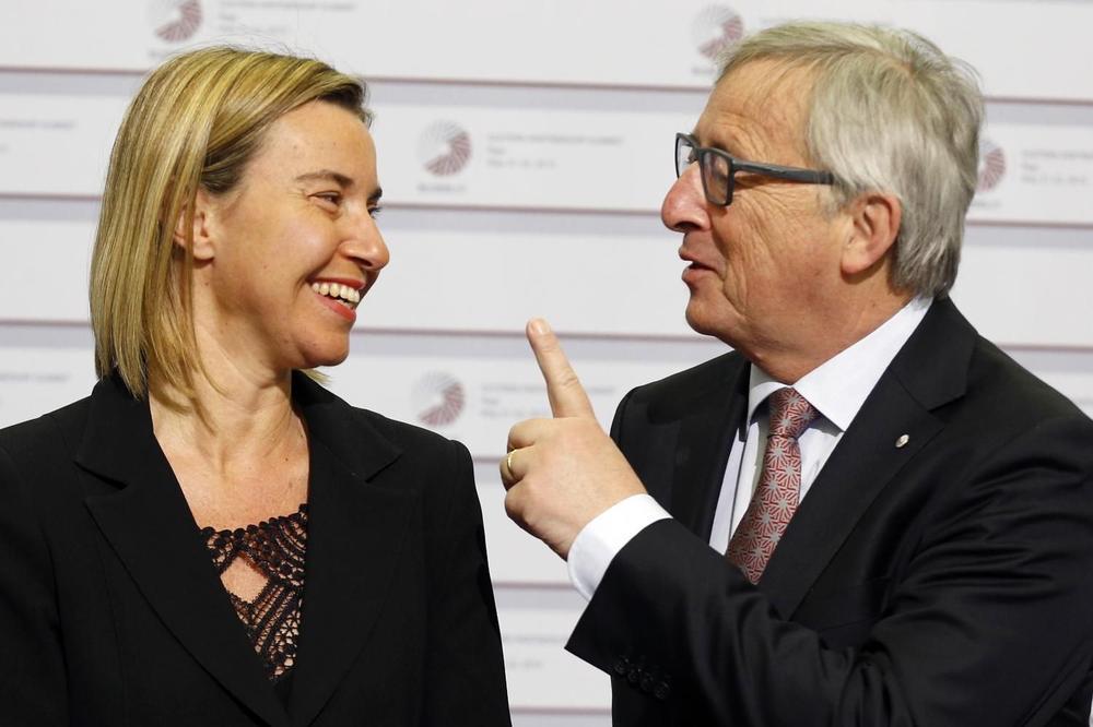 IZVORI EU: Junker bi da pogura Srbiju i Crnu Goru u EU, Mogerini više za balkanski paket