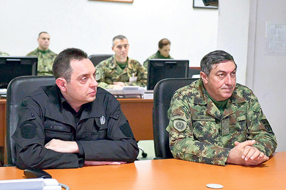 NAČELNIKU GŠ ZABRANJEN ULAZAK U SAD Vulin: Odluka o vizi za Dikovića loša za odnose sa Amerikom!