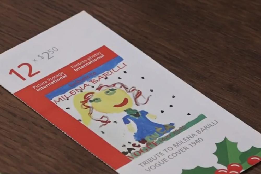 (VIDEO) SADA ĆE CEO SVET DA ČUJE ZA VASILIJU IZ SRBIJE: Na poštanskoj markici Kanade slika devojčice (6) iz Požarevca