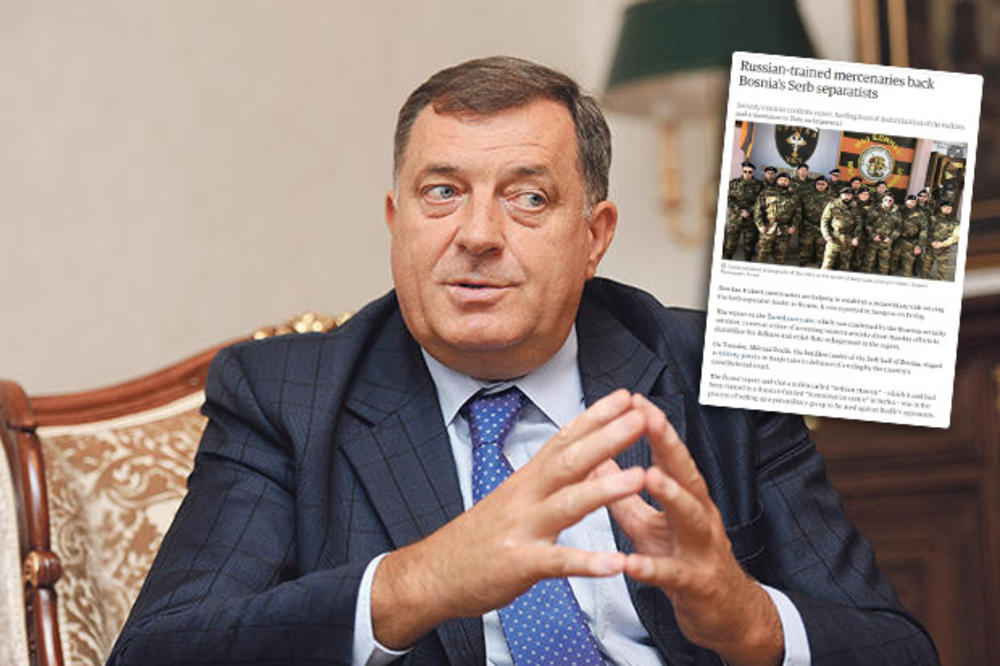 GARDIJAN: Dodik stvara plaćeničku vojsku koju obučavaju Rusi